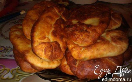 Рецепт Дрожжевые жареные пирожки