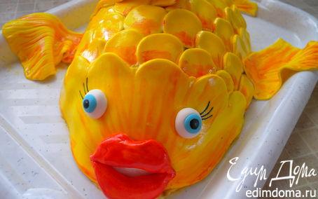 """Рецепт Торт """"Золотая рыбка"""""""