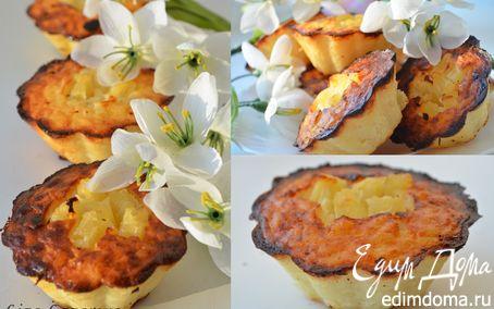 Рецепт Рисовые мини-тортики с ананасом