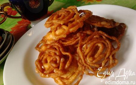 Рецепт Индийская сладость - Джалеби