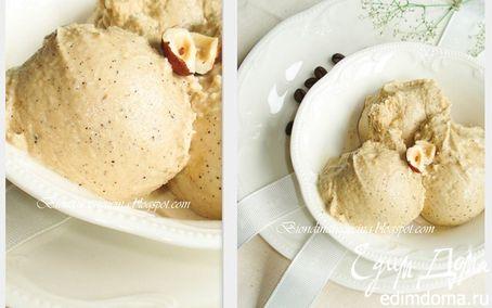 Рецепт Кофейное мороженое с фундуком