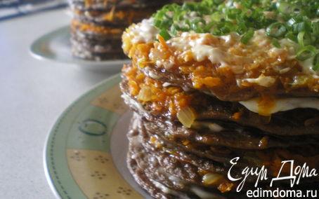 Рецепт Печеночные тортики