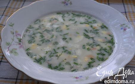 Рецепт Суп с плавленым сыром