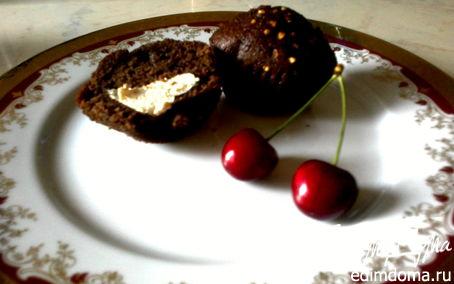 Рецепт Шоколадные маффины с маскарпоне