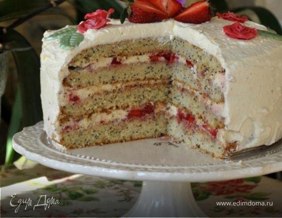 маковый торт рецепт с фото