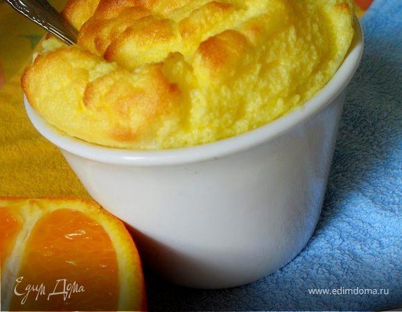 Цитрусовое суфле с апельсином