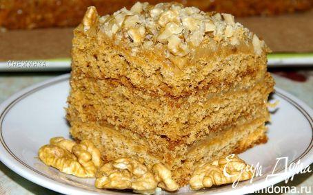 "Рецепт Медовый торт ""Антуанетта"""