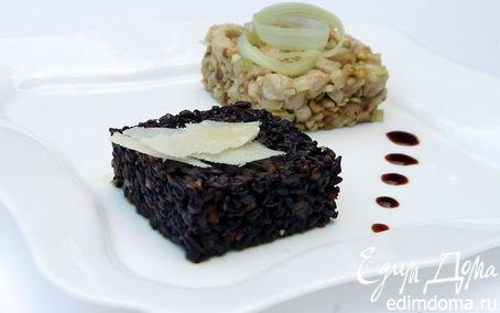Рецепт Куриный салат с черным рисом Venere