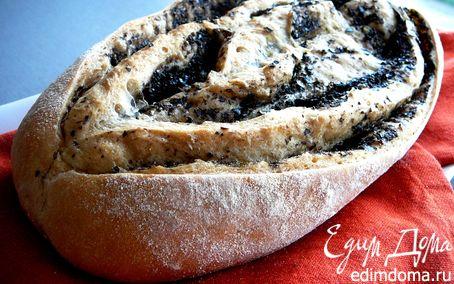 Рецепт Хлеб с маслинами от Ришара Бертине...