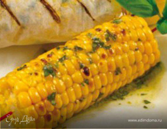 Запеченные в духовке початки кукурузы