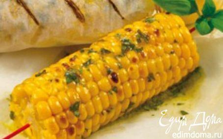 Рецепт Запеченные в духовке початки кукурузы