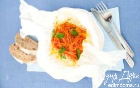 Рецепт Треска под маринадом с картофелем в пакете SAGA
