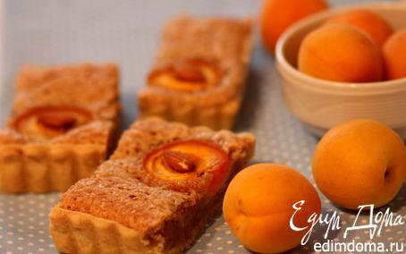 Рецепт Абрикосовый тарт с миндальным кремом (франжипаном)