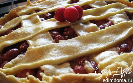 Рецепт Английский традиционный черешневый пирог
