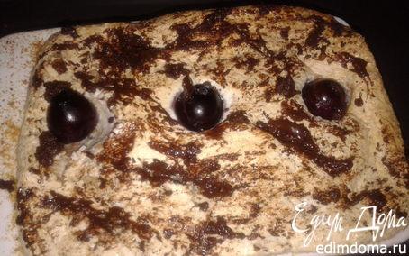 Рецепт Творожно-фруктовый кекс с лимоном и черносливом