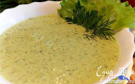 Рецепт Овсяный суп на кефире