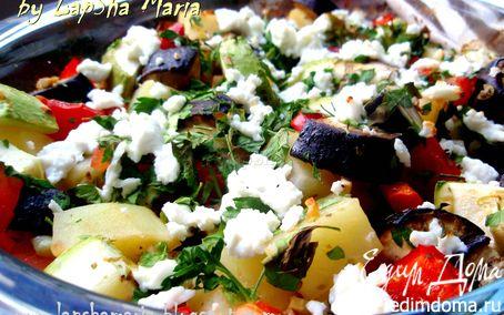 Рецепт Бриам - греческое овощное рагу