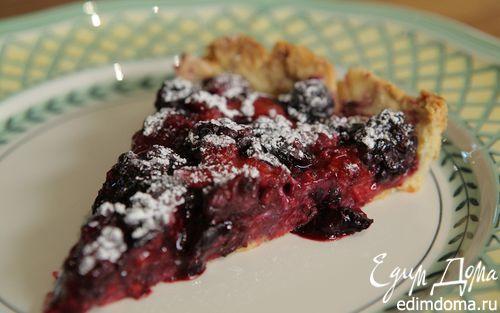 Рецепт Летний ягодный пирог