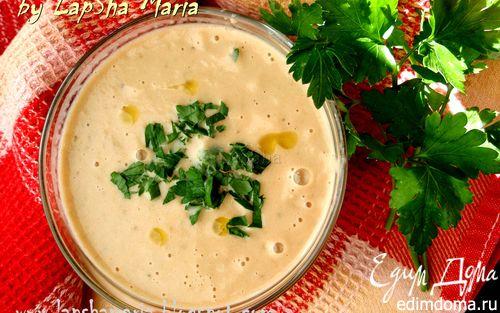 Рецепт Суп из баклажана с запеченными томатами