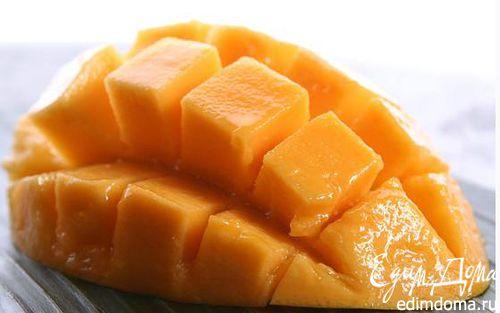 Рецепт Пюре из манго и йогурта