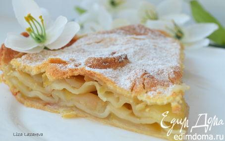 Рецепт Слоеный яблочный пирог