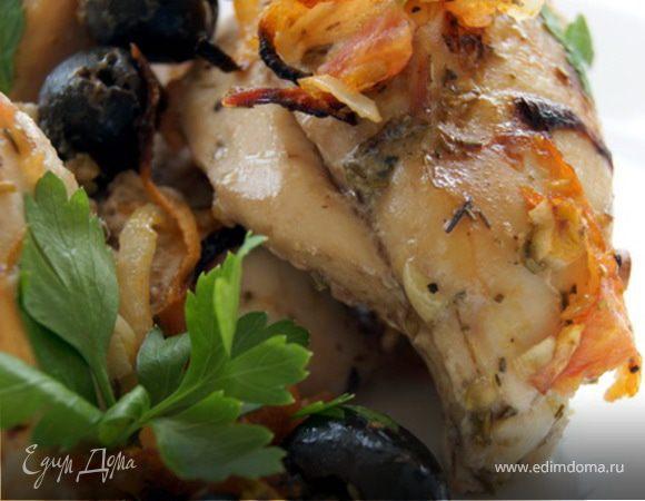 Запеченная курица по-провански