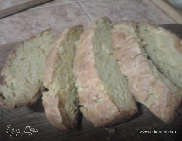 Луково-сырный быстрый хлеб