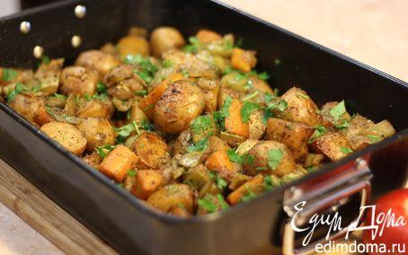 Рецепт Овощное рагу - постное блюдо