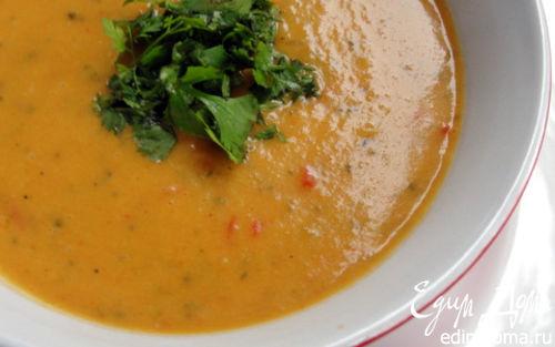 Рецепт Легкий, летний крем-суп на кокосовом молоке