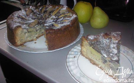 Рецепт Пирог яблочно-грушевый