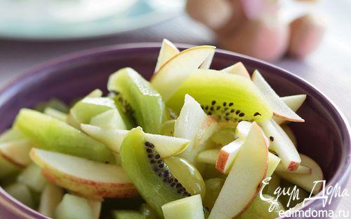 Рецепт Зеленый фруктовый салат