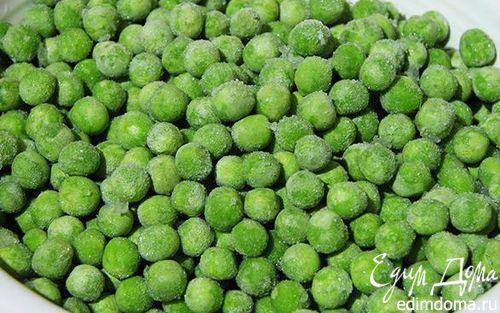 Рецепт Пюре из зеленого горошка