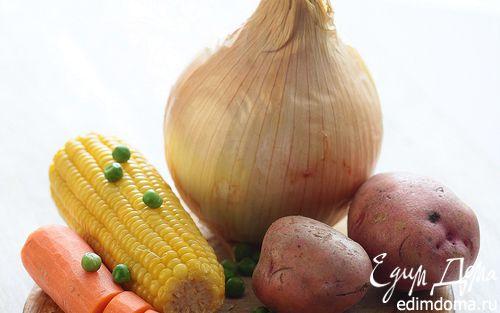 Рецепт Сладкое овощное пюре