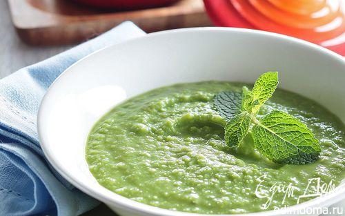 Рецепт Суп из зеленого горошка