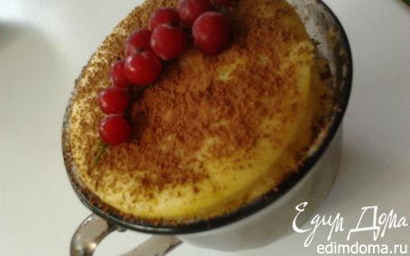 Рецепт Бисквит в чашке (СВЧ)