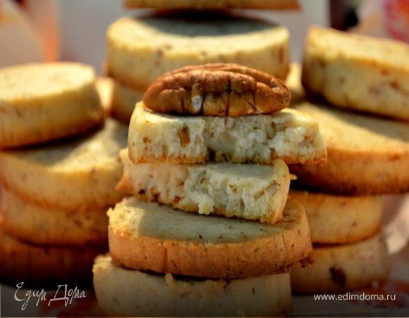 Ореховое печенье на сливочном сыре