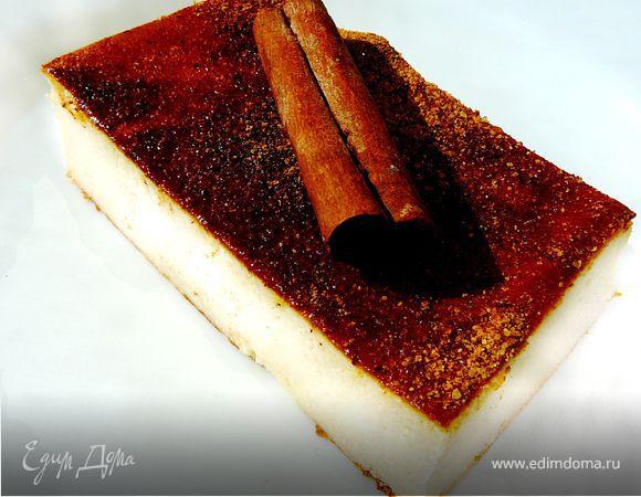 Творожно-медовый пирог (Μελόπιτα)