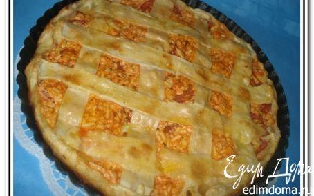 Рецепт Пирог с помидорами и адыгейским сыром