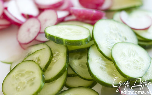 Рецепт Салат из свежих овощей