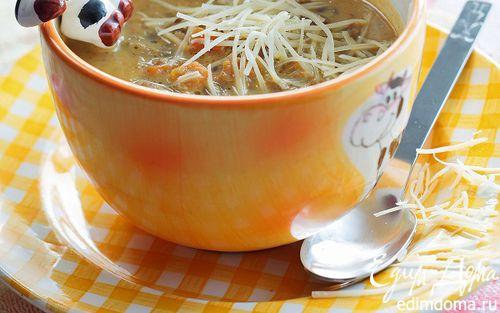 Рецепт Супчик из моркови и чечевицы