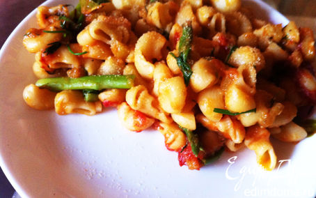 Рецепт Макароны с овощным соусом