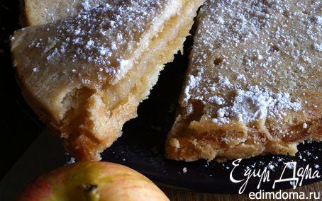Рецепт Яблочный пирог без яиц