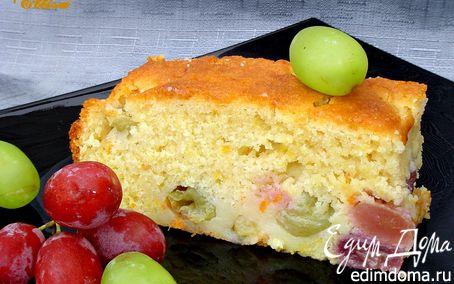 Рецепт Пирог с виноградом от Джейми Оливера