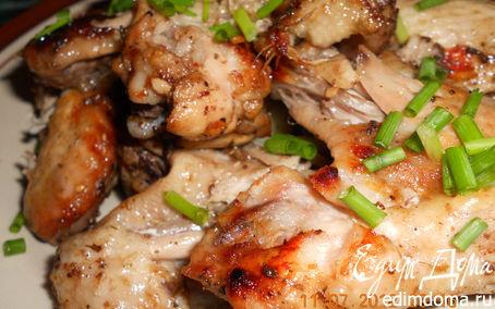 Рецепт Крылышки в сливовом соусе
