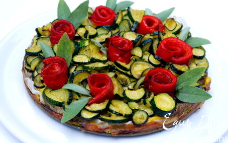 Рецепт Овощной торт без теста