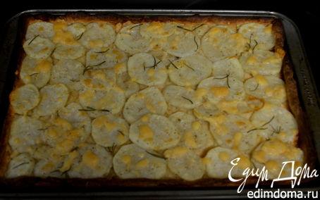 Рецепт Картофельная пицца с розмарином