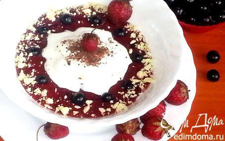 Рецепт Мороженое в ягодном раю