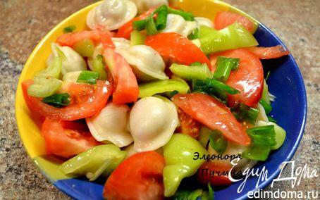 Рецепт Пельмени с овощами