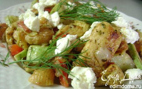 Рецепт Салат по-средиземноморски