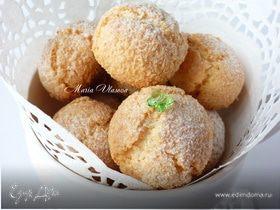 Кокосовые тучки с миндалем и белым шоколадом для очаровательной Наташи (Biondina)
